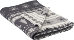 Christmas Nordic Design Decorative Cotton Throw Blanket 50x60 from Primitives by Kathy