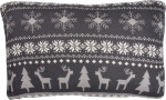 Christmas Nordic Design Cotton Throw Pillow 12x20 from Primitives by Kathy