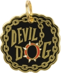 Devil Dog Collar Charm by Artist LOL Made You Smile from Primitives by Kathy