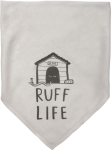 Ruff Life Rayon Dog Bandana 16x16 Primitives by Kathy