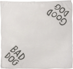 Good Dog Bad Dog Pet Bandana from Primitives by Kathy