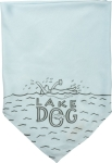 Large Lake Dog Rayon Pet Bandana from Primitives by Kathy
