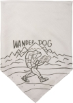 Large Wander Dog Rayon Pet Bandana from Primitives by Kathy