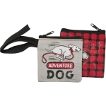 Adventure Dog Pet Waste Bag Pouch from Primitives by Kathy