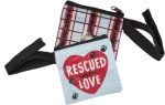 Rescued With Love Pet Waste Bag Pouch 3.5x3.5 from Primitives by Kathy