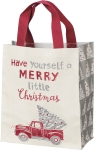 Have Yourself A Merry Little Christmas Daily Tote Bag from Primitives by Kathy