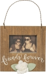 Friends Forever Mini Wooden Picture Photo Frame (Holds 3x2 Photo) Primitives by Kathy