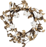 Farmhouse Style 2 Inch Cotton Wreath from Primitives by Kathy