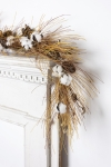 Farmhouse Style Cotton & Needles With Pinecone Accents Cotton Garland 72 Inch  from Primitives by Kathy