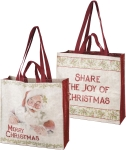 Share The Joy Of Christmas Double Sided Market Tote Bag from Primitives by Kathy