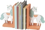 Unicorn Bookends Set by Artist Andie Hanna from Primitives by Kathy