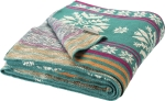 Bohemian Nordic Snowflake Woven Cotton Blanket Throw 50x60 from Primitives by Kathy