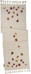 Falling Leaves Decorative Cotton Table Runner Cloth 52x15 from Primitives by Kathy