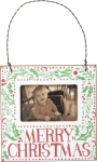 Holly Design Merry Christmas Decorative Mini Photo Picture Frame (Holds 3x2 Photo) from Primitives by Kathy