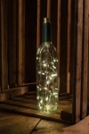 White Twinkle Wine Stopper Bottlle Lights Battery Operated from Primitives by Kathy