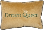 Dream Queen Velvet Throw Pillow 15x10 from Primitives by Kathy