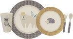 Woodland Creatures Bamboo Fiber Baby Meal Set from Primitives by Kathy