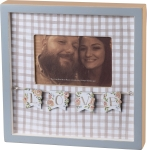 Love Themed Decorative Inset Wooden Photo Picture Frame (Holds 6x4 Photo) from Primitives by Kathy