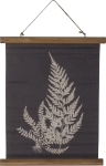 Rooted Fern Decorative Canvas Hanging Wall Décor from Primitives by Kathy
