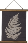 Single Fern Decorative Canvas Hanging Wall Décor from Primitives by Kathy