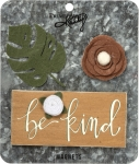 Botanical Themed Be Kind Refrigerator Magnet Set (Set of 3) from Primitives by Kathy