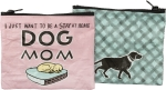 Stay At Home Dog Mom Zipper Wallet Travel Pouch from Primitives by Kathy