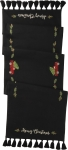 Truck & Tree Merry Christmas Decorative Table Runner Cloth 52x15 from Primitives by Kathy