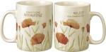 Floral Design Make Today Amazing Double Sided Stoneware Coffee Mug 20 Oz from Primitives by Kathy