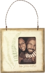 Be-you-tiful Decorative Mini Hanging Photo Picture Frame (Holds 2x3 Photo) from Primitives by Kathy