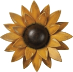 Wooden Wall Décor Sunflower by Artist Mechelle Clark from Primitives by Kathy