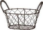 Accessories Mini Wire Basket With Dual Handles from Primitives by Kathy