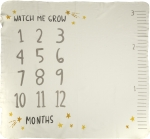 Watch Me Grow Cotton Baby Milestone Blanket 42x36 from Primitives by Kathy
