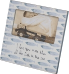 I Love You More Than All The Fish In The Sea Decorative Photo Picture Frame (Holds 5x3 Photo) from Primitives by Kathy