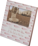 I Love You More Than All The Fish In The Sea Decorative Nursery Photo Picture Frame (Holds 5x3 Photo) from Primitives by Kathy