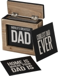 Words Of Wisdom - World's Greatest Dad  from Primitives by Kathy