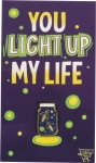 Fireflies You Light Up My Life Enamel Pin With Greeting Card from Primitives by Kathy