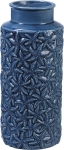 Blue Starfish Design Stoneware Vase from Primitives by Kathy