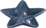 Starfish Shaped Blue Decorative Trinket Tray from Primitives by Kathy