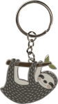 Don't Hurry Sloth Enamel Key Chain from Primitives by Kathy