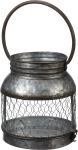 Small Metal Candle Holder Lantern from Primitives by Kathy