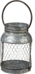 Large Metal Candle Holder Lantern from Primitives by Kathy
