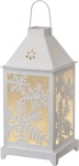 Snowflakes Design Large Lantern With Handle from Primitives by Kathy