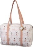 Ballerina & Swan Dance Cotton Duffel Bag 18x12 from Primitives by Kathy
