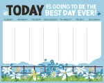 Today Is Going To Be The Best Day Ever Weekly Paper Notepad Planner (60 Pages) from Primitives by Kathy