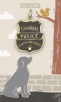 Squirrel Police Always On Patrol Hard Enamel Dog Collar Pet Charm from Primitives by Kathy