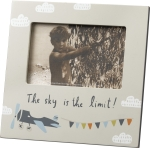 Plane Themed The Sky Is The Limit Decorative Photo Picture Frame (Holds 6x4 Photo) from Primitives by Kathy