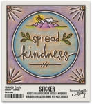 Set of 6 Spread Kindness Decorative Stickers 2x2 from Primitives by Kathy