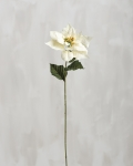Artificial White Poinsettia Decorative Pick 30 Inch from Primitives by Kathy