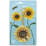 Bee Happy Bee Humble Bee Kind Hard Enamel Key Chain from Primitives by Kathy