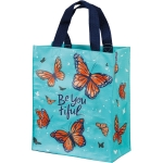 Butterfly Design Be You Tiful Daily Tote Bag from Primitives by Kathy